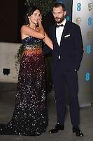 Amelia Warner &amp; Jamie Dornan at the 2017 EE British Academy Film Awards (BAFTA) After-Party held at the Grosvenor House Hotel, London, UK. <br /> 12 February  2017<br /> Picture: Steve Vas/Featureflash/SilverHub 0208 004 5359 sales@silverhubmedia.com
