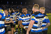 Semesa Rokoduguni of Bath Rugby after the match. Aviva Premiership match, between Bath Rugby and Northampton Saints on February 10, 2017 at the Recreation Ground in Bath, England. Photo by: Patrick Khachfe / Onside Images