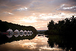 The 4 Rivers Floating Lodge, a luxury eco-resort floating on the Tatai River, near the town Koh Kong, Cambodia, on Friday, Dec. 3, 2010.