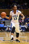 21 February 2016: Duke's Crystal Primm. The Duke University Blue Devils hosted the Georgia Tech Yellow Jackets at Cameron Indoor Stadium in Durham, North Carolina in a 2015-16 NCAA Division I Women's Basketball game. Georgia Tech won the game 64-59.