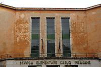 Quartiere di Torpignattara, VI Municipio, circa 48.000 abitanti.In questo quartiere convivono numerose comunità di immigrati..Torpignattara district. VI Hall, about 48,000 inhabitant.In this district live many immigrant communities..