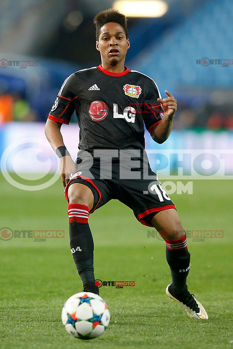 Bayer 04 Leverkusen's Wendell during Champions League 2014/2015 match.March 16,2015. (ALTERPHOTOS/Acero) /NORTEphoto.com