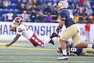 Annapolis, MD - December 3, 2016: Temple Owls running back Ryquell Armstead (25) in action during game between Temple and Navy at  Navy-Marine Corps Memorial Stadium in Annapolis, MD.   (Photo by Elliott Brown/Media Images International)