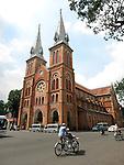 Notre Dam Cathedral, Ho chi Minh City, Vietnam