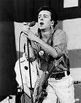 The Clash 1979 Joe Strummer.
