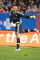 BRONX, NY - Friday April 15, 2015: Expansion team New York City FC ties the Chicago Fire 2-2 at home at Yankee Stadium during the MLS regular season.