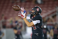 STANFORD, CA - October 8, 2016: Paxon Segina at Stanford Stadium. The Washington State Cougars defeated the Cardinal 42-16.