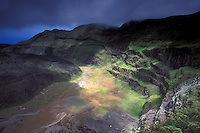 La Soufriere Volcano Crater, St. Vincent, The Grenadines, Caribbean