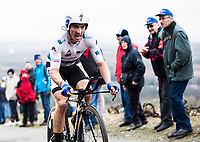 Picture by Alex Broadway/SWpix.com - 08/03/17 - Cycling - 2017 Paris Nice - Stage Four - Beaujeu to Mont Brouilly -Julian Alaphilippe of Quick Step Floors competes in the Time Trial.