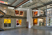 Gebert, Contemporary Art Gallery, Abbot Kinney Blvd,. in the heart of Venice, CA. High dynamic range imaging (HDRI or HDR)