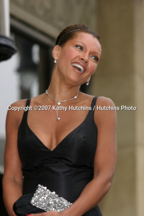 Vanessa L. Williams.Vanessa Williams receives a star on the Hollywood Walk ...