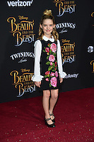 Mckenna Grace at the premiere for Disney's &quot;Beauty and the Beast&quot; at El Capitan Theatre, Hollywood. Los Angeles, USA 02 March  2017<br /> Picture: Paul Smith/Featureflash/SilverHub 0208 004 5359 sales@silverhubmedia.com