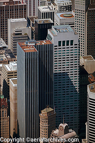 aerial photograph 44 Montgomery Street San Francisco
