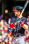 11 September 2016: Washington Nationals outfielder Bryce Harper steps up to the plate during a game against the Philadelphia Phillies at Nationals Park in Washington, DC. The Nationals edged out the Phillies 3-2 to take the rubber match of their 3-game series. Mandatory Credit: Ed Wolfstein Photo *** RAW (NEF) Image File Available ***