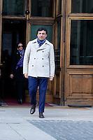Roma 16 Marzo2013.Montecitorio, secondo giorno della  XVII legislatura..Simone Valiante, deputato del Partito Democratico.