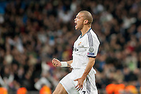Pepe Celebrating his own goal