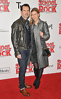 Jimmy Carr and Karoline Copping at the &quot;School of Rock: The Musical&quot; VIP opening night, New London Theatre, Drury Lanes, London, England, UK, on Monday 14 November 2016. <br /> CAP/CAN<br /> &copy;CAN/Capital Pictures /MediaPunch ***NORTH AND SOUTH AMERICAS ONLY***