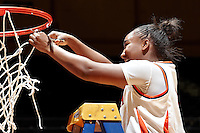 SAN ANTONIO, TX - MARCH 5, 2011: The University of Texas at Arlington Mavericks vs. the University of Texas at San Antonio Roadrunners Women's Basketball at the UTSA Convocation Center. (Photo by Jeff Huehn)