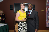 Amanda Schwartz, left, Ted James, M.D. SURGERY SENIOR MAJOR SCIENTIFIC PROGRAM.