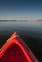 Kayaking Home, Castine, Maine, US