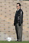 27 November 2009: North Carolina head coach Anson Dorrance. The University of North Carolina Tar Heels defeated the Wake Forest University Demon Deacons 5-2 at Fetzer Field in Chapel Hill, North Carolina in an NCAA Division I Women's Soccer Tournament Quarterfinal game.