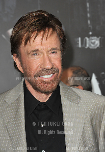 """Chuck Norris at the Los Angeles premiere of his movie """"The Expendables 2"""" at Grauman's Chinese Theatre, Hollywood..August 16, 2012  Los Angeles, CA.Picture: Paul Smith / Featureflash"""