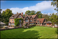 BNPS.co.uk (01202 558833)<br /> Pic: HamptonsInternational/BNPS<br /> <br /> Fancy Lording it over your neighbours...then this  moated mansion in Surrey might fit the bill, as it comes with its own Lord &amp; Ladyship title.<br /> <br /> Whoever splashes out the &pound;2.25m asking price for Cudworth Manor in Surrey will not only acquire a history-steeped ten bedroom residence but also inherit the title of Lord or Lady Cudworth.<br /> <br /> If the prospect of a manorialism isn't quite enough then the house itself, a 16th century property on an island surrounded by a medieval moat, might be. <br /> <br /> The Grade II listed property near Dorking in Surrey is arranged over three floors and sits in almost nine acres of land.