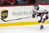 Ryan Donato (Harvard - 16) - The Harvard University Crimson tied the visiting Yale University Bulldogs 1-1 on Saturday, January 21, 2017, at the Bright-Landry Hockey Center in Boston, Massachusetts.