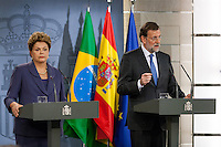 Visit Brazil's president Dilma Rousseff to Moncloa Palace