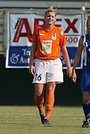 03 July 2008: Carolina's Betsy Frederick. The Charlotte Lady Eagles defeated the Carolina Railhawks Women 3-0 at WakeMed Stadium in Cary, NC in a 2008 United Soccer League W-League regular season game.