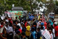 People march against police brutality in Staten Island. 08.23.2014. Eduardo Munoz Alvarez/VIEWpress