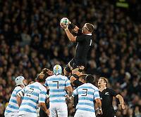 Rugby World Cup Auckland  New Zealand v Argentina Quarter Final 4 - 09/10/2011.Brad Thorn  (New Zealand).Photo Frey Fotosports International/AMN Images