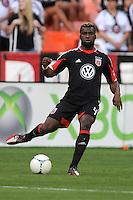 D.C. United defender Brandon McDonald (4) D.C. United defeated Toronto FC 3-1 at RFK Stadium, Saturday May 19, 2012.