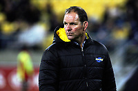 Hurricanes assistant coach John Plumtree during the Super Rugby match between the Hurricanes and Stormers at Westpac Stadium in Wellington, New Zealand on Friday, 5 May 2017. Photo: Mike Moran / lintottphoto.co.nz