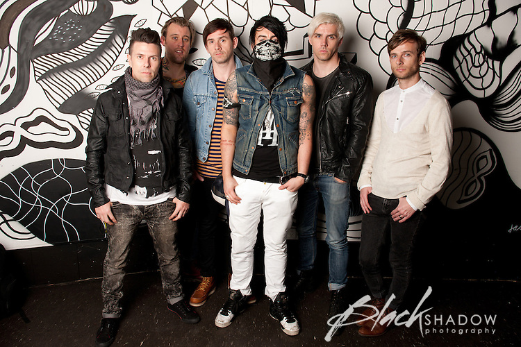 Lostprophets editorial photo shoot, Melbourne, March 2012