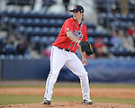 Ole Miss' Drew Pomeranz vs. Louisiana-Monroe at Oxford-University Stadium in Oxford, Miss. on Friday, February 19, 2010.