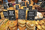 Focaccia for sale at an RHS Secret Garden Sunday.