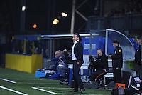 VOETBAL: LEEUWARDEN: 12-09-2015, SC Cambuur - PSV, uitslag 0-6, Cambuur trainer/coach Henk de Jong, ©foto Martin de Jong