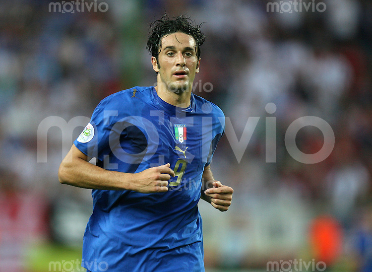 Fussball WM 2006  Gruppenspiel  Vorrunde  Gruppe C Italien 1-1 USA Luca Toni (ITA)