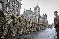 Freedom of Edinburgh For 3 Rifles