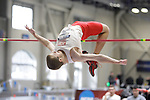 11 MAR 2011: Zach Heerspink of North Central College high jumps during the the Division III Men's and Women's Indoor Track and Field Championships held at the Capital Center Fieldhouse on the Capital University campus in Columbus, OH.  Jay LaPrete/NCAA Photos