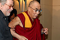 June 19, 2010 - Tokyo, Japan - Tibetan exiled spiritual leader the Dalai Lama attends a press conference at the Foreign Correspondent Club of Japan in Tokyo on June 19, 2010. The Nobel Peace Prize winner visits Japan for a speaking tour but has no immediate plan to hold talks with Japanese political leaders.