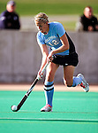 25 October 2009: Columbia University Lion forward Christine Buszczak, a Senior from North Brunswick, NJ, in action against the University of Vermont Catamounts at Moulton Winder Field in Burlington, Vermont. The Lions shut out the Catamounts 1-0. Mandatory Credit: Ed Wolfstein Photo