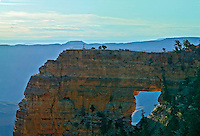 VIEW FROM CAPE ROYAL, NORTH RIM, GRAND CANYON, ARIZONA, Angels Window