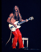 Mark Farner of Grand Funk Railroad performs at the Met Sports Center in Minneapolis in 1971.