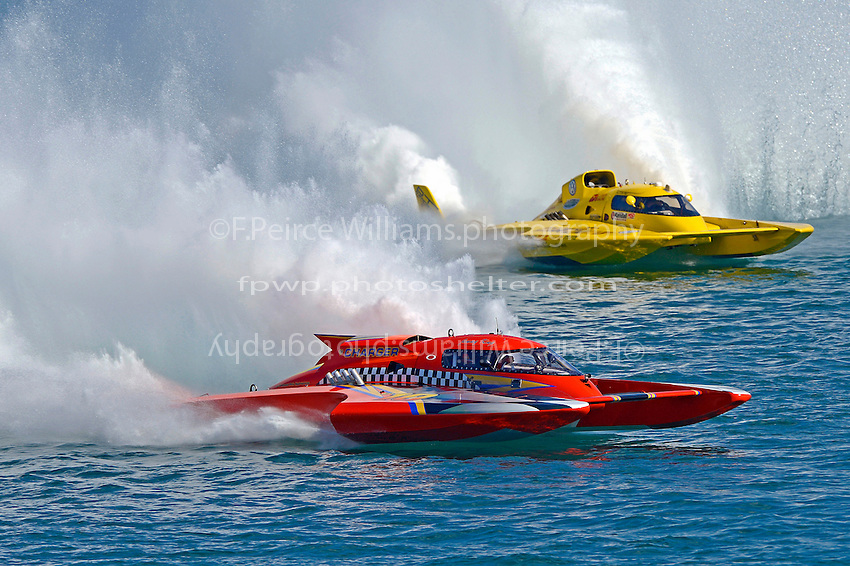 "Jimmy King, GP-10 ""The Charger"" and Jerry Hopp, GP-15 ""Happy Go Lucky"" (Grand Prix Hydroplane(s)"