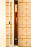 WALL MOUNTED MERCURY BAROMETER<br /> Measures Atmospheric Pressure<br /> The mercury barometer is the standard instrument for atmospheric pressure measurement in weather reporting. The decrease in atmospheric pressure with height can be predicted from the barometric formula. Standard atmospheric pressure is 760mm of mercury