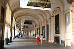 Shopping Streets in Turin - Torino in Italy
