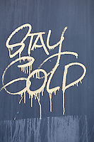 graffiti in Florida : &quot;stay cold&quot;