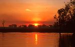 Yellow Waters sunset, Kakadu National Park, Northern Territory
